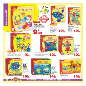 Catalogue Maxi Toys Belgique Noël 2017 page 108
