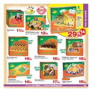Catalogue Maxi Toys Belgique Noël 2017 page 109
