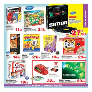Catalogue Maxi Toys Belgique Noël 2017 page 111