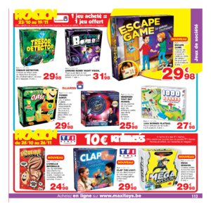 Catalogue Maxi Toys Belgique Noël 2017 page 113