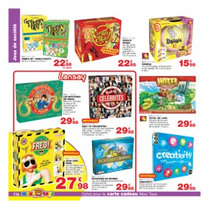 Catalogue Maxi Toys Belgique Noël 2017 page 114