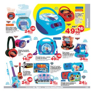 Catalogue Maxi Toys Belgique Noël 2017 page 117