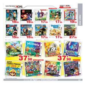 Catalogue Maxi Toys Belgique Noël 2017 page 127