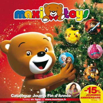 Catalogue Maxi Toys France Noël 2016