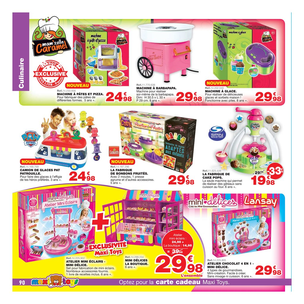 catalogue maxi toys no l 2017 catalogue de jouets. Black Bedroom Furniture Sets. Home Design Ideas
