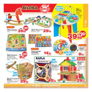 Catalogue Maxi Toys Noël 2017 page 15