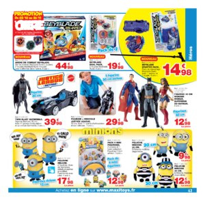 Catalogue Maxi Toys Noël 2017 page 43