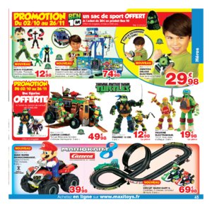 Catalogue Maxi Toys Noël 2017 page 45