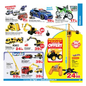 Catalogue Maxi Toys Noël 2017 page 49