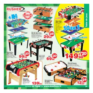 Catalogue Maxi Toys Noël 2017 page 59