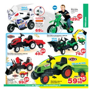 Catalogue Maxi Toys Noël 2017 page 65