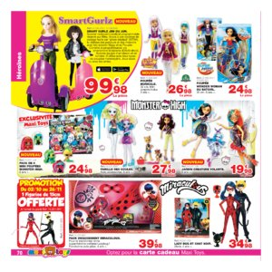 Catalogue Maxi Toys Noël 2017 page 70