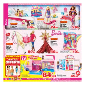 Catalogue Maxi Toys Noël 2017 page 72
