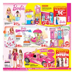 Catalogue Maxi Toys Noël 2017 page 73
