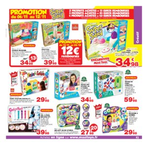 Catalogue Maxi Toys Noël 2017 page 93