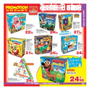 Catalogue Maxi Toys Noël 2017 page 105