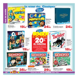 Catalogue Maxi Toys Noël 2017 page 110
