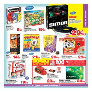 Catalogue Maxi Toys Noël 2017 page 111
