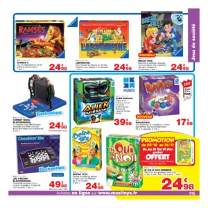 Catalogue Maxi Toys Noël 2017 page 115