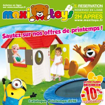 Catalogue Maxi Toys France Printemps 2016