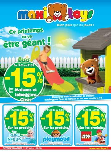 Catalogue Maxi Toys France Printemps 2017