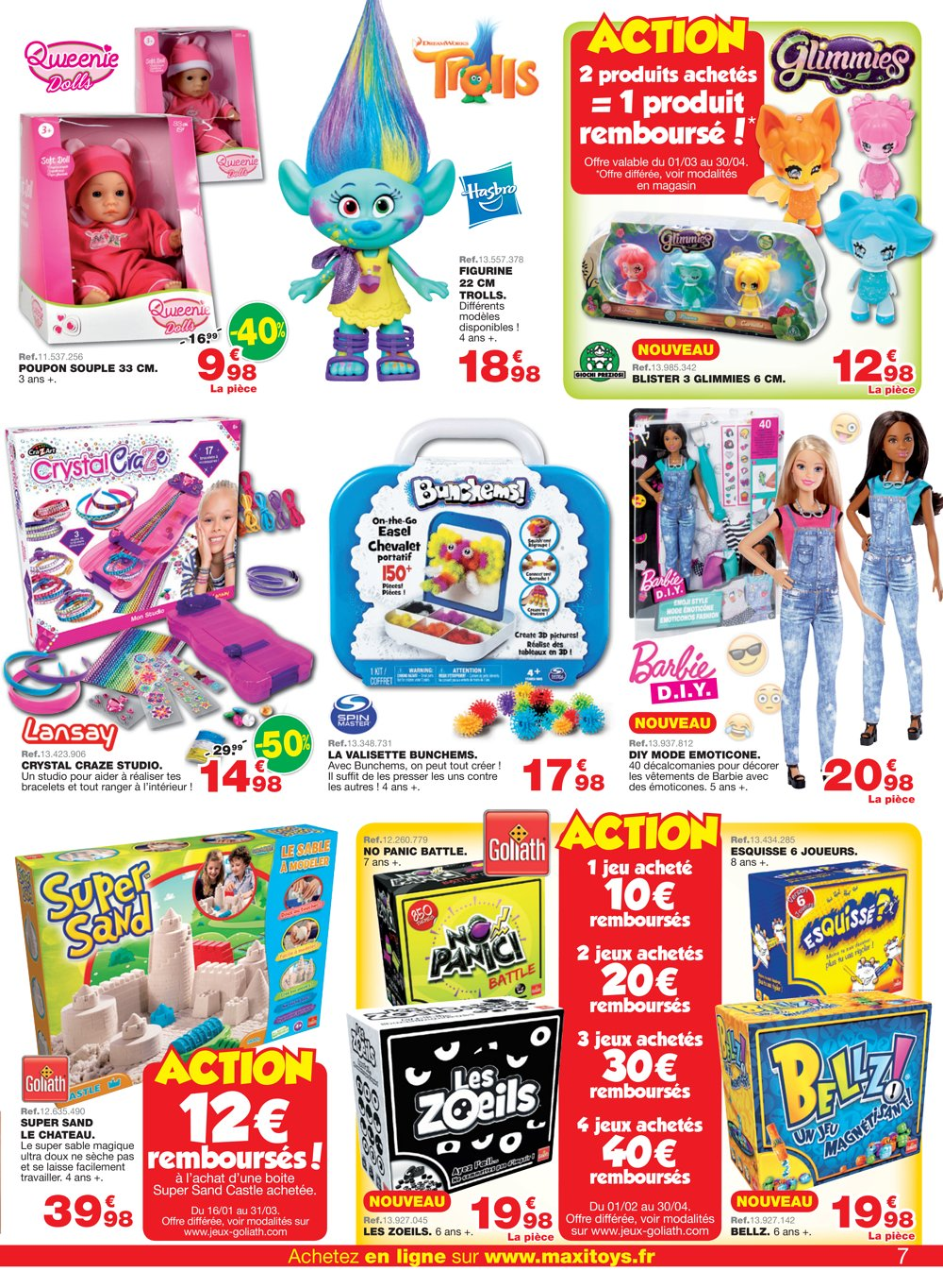 catalogue maxi toys france printemps 2017 catalogue de jouets. Black Bedroom Furniture Sets. Home Design Ideas