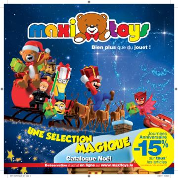 Catalogue Maxi Toys Luxembourg Noël 2017