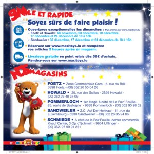 Catalogue Maxi Toys Luxembourg Noël 2017 page 2