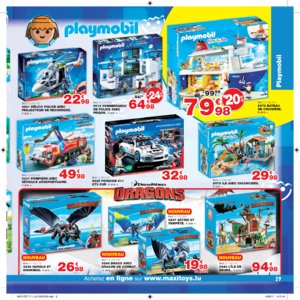 Catalogue Maxi Toys Luxembourg Noël 2017 page 29