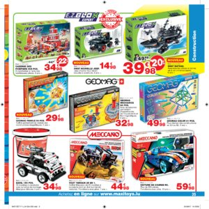 Catalogue Maxi Toys Luxembourg Noël 2017 page 35