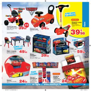 Catalogue Maxi Toys Luxembourg Noël 2017 page 39