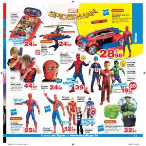 Catalogue Maxi Toys Luxembourg Noël 2017 page 41