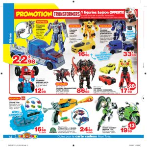 Catalogue Maxi Toys Luxembourg Noël 2017 page 42