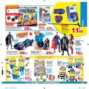 Catalogue Maxi Toys Luxembourg Noël 2017 page 43