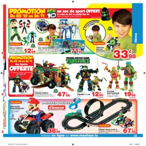 Catalogue Maxi Toys Luxembourg Noël 2017 page 45