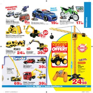 Catalogue Maxi Toys Luxembourg Noël 2017 page 49