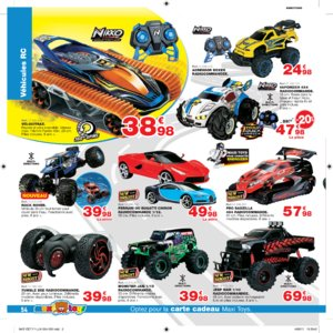 Catalogue Maxi Toys Luxembourg Noël 2017 page 54