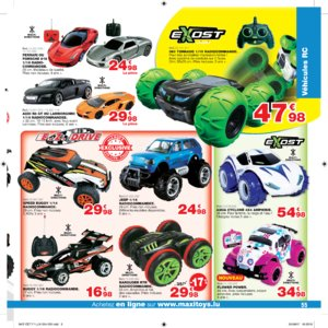 Catalogue Maxi Toys Luxembourg Noël 2017 page 55