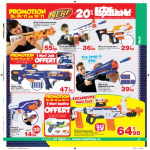 Catalogue Maxi Toys Luxembourg Noël 2017 page 61