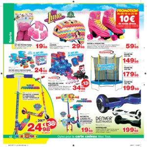 Catalogue Maxi Toys Luxembourg Noël 2017 page 62