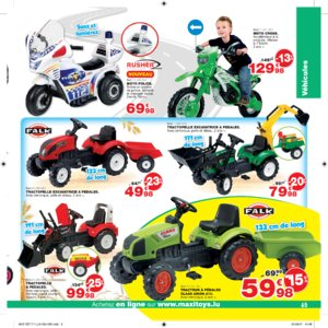 Catalogue Maxi Toys Luxembourg Noël 2017 page 65