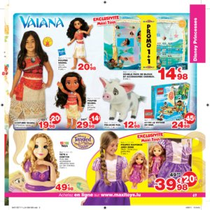 Catalogue Maxi Toys Luxembourg Noël 2017 page 69