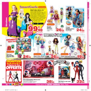 Catalogue Maxi Toys Luxembourg Noël 2017 page 70