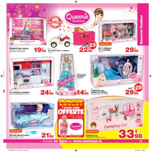 Catalogue Maxi Toys Luxembourg Noël 2017 page 71