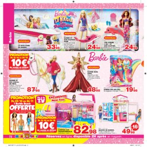 Catalogue Maxi Toys Luxembourg Noël 2017 page 72