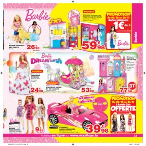 Catalogue Maxi Toys Luxembourg Noël 2017 page 73