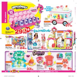 Catalogue Maxi Toys Luxembourg Noël 2017 page 74