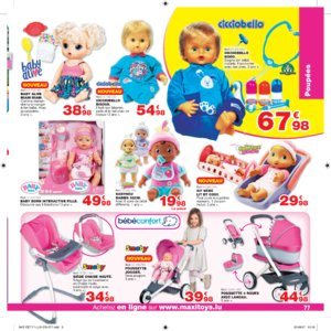 Catalogue Maxi Toys Luxembourg Noël 2017 page 77