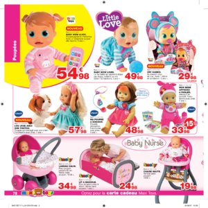 Catalogue Maxi Toys Luxembourg Noël 2017 page 78