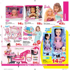 Catalogue Maxi Toys Luxembourg Noël 2017 page 79